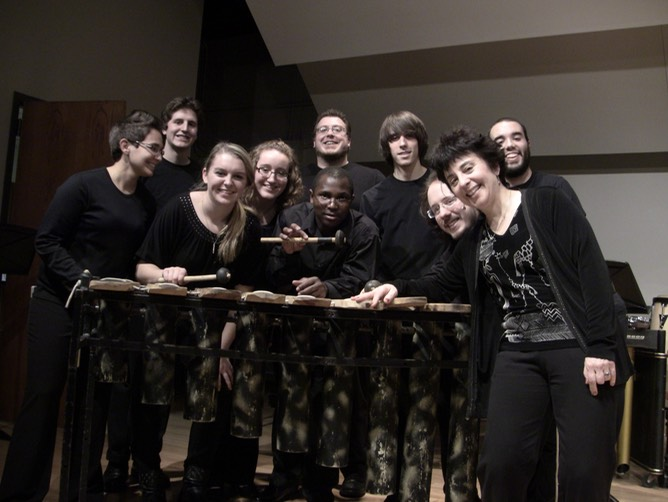 Percussion Ensemble Dec 6 2011.JPG